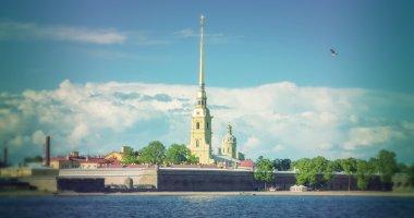Peter and Paul Fortress in  Saint Petersburg.