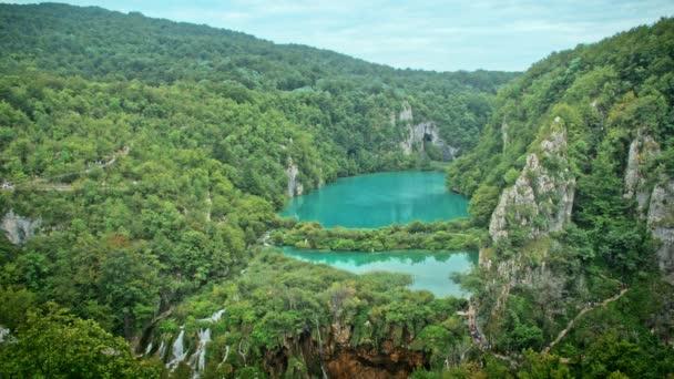Vodopády a jezera v Plitvice