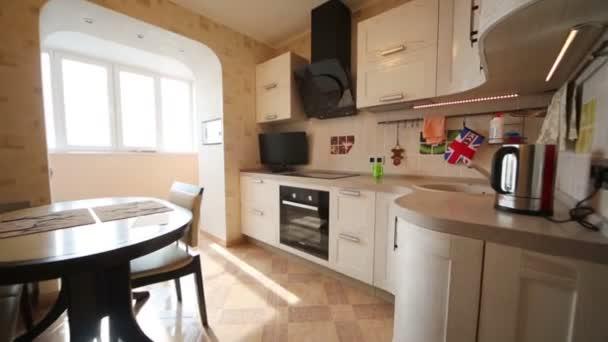 Interiér kuchyně místnosti