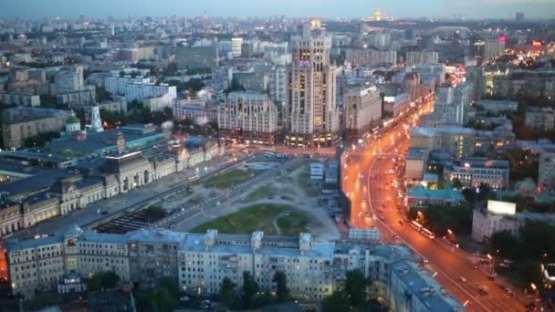 letní večer v Moskvě