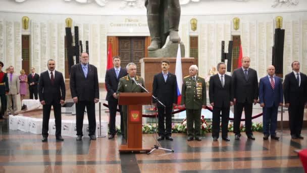 Generální ministr obrany náměstek Arkady Bahin