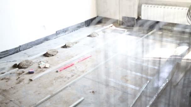 Potěr pro nalévání betonová podlaha