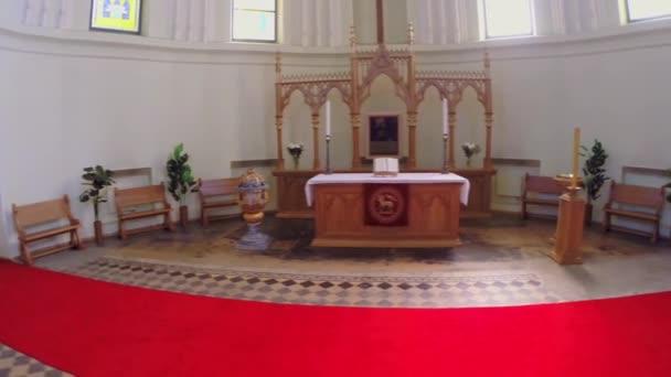 Chancel in der Halle der Evangelisch-Lutherischen Kathedrale