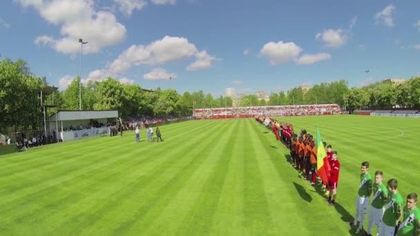 Formation of soccer teams