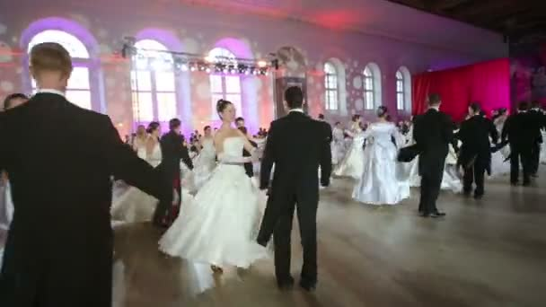 Cadets dancing on Kremlin Cadet Ball