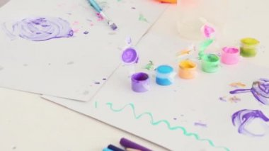 Children Creativity On Table