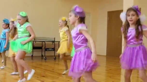 Girls dance in School