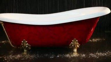 Vasca Da Bagno Perde Acqua : Vasca da bagno rubinetto gocce dacqua in vasca u2014 video stock