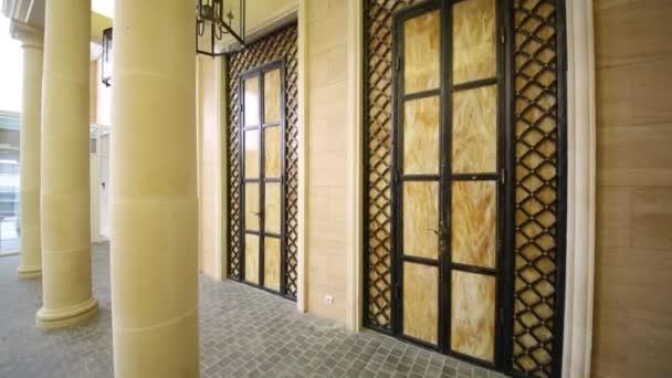 Decorative doors  in hall