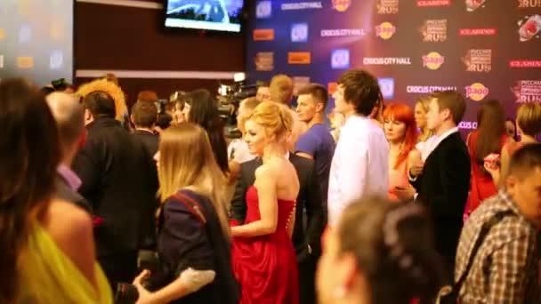 Stars, journalists and photographers on Russian Music Award