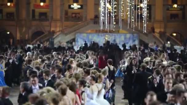 Many beautiful dancing couples at 11th Viennese Ball
