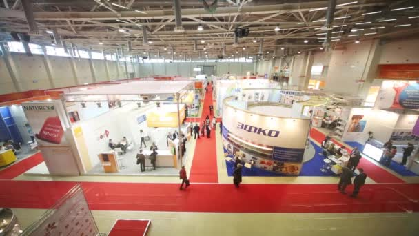 Exhibition Hall of the pavilion MosExpo during Exhibition
