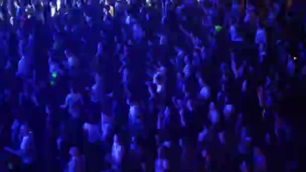 Many people dance during show