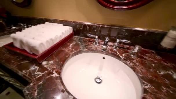 Modern interior of male public toilet