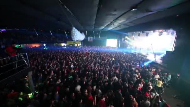 Concert at Arena Moscow nightclub