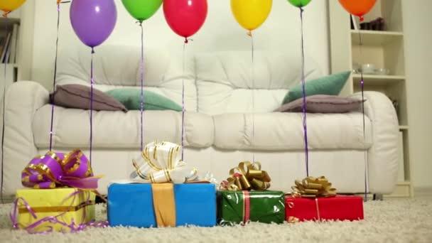 Születésnapi levegő léggömbök