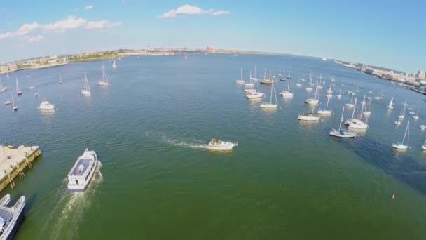 Plachty plavidel Boston Sailing Club