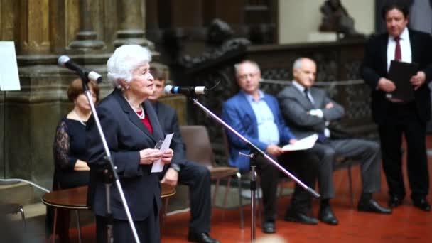 Irina Antonova at third award ceremony