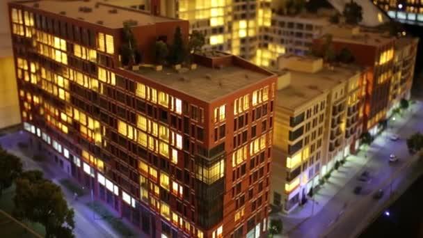 Architekturmodell einer Wohnanlage