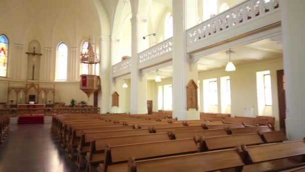 Einfache Einrichtung der Evangelisch-lutherische Kathedrale