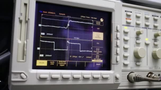 digital oscilloscope with graphics