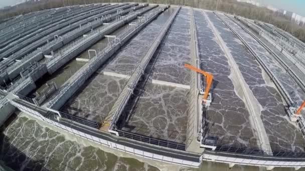 Belüftungstanks der biologischen Wasseraufbereitung