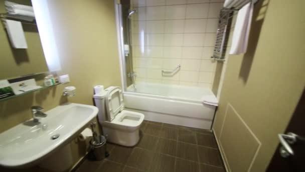 Koupelna v bytě v Gorki Gorod v Soči