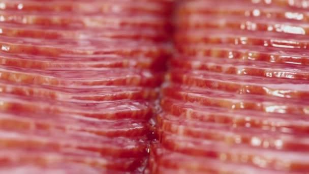 Vakuově balené plátky salám klobása