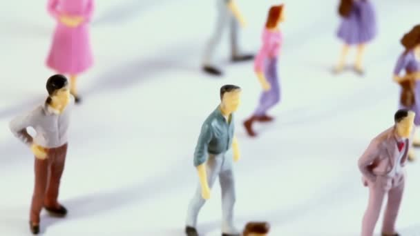 Toy, miniature figures of people