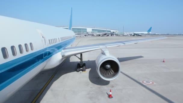 Stání letadel na letišti