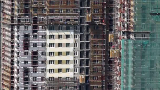 Vícepodlažní budovy ve výstavbě