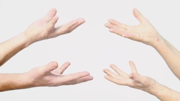Vezető kezében Térkép tartsa a palms gesztus