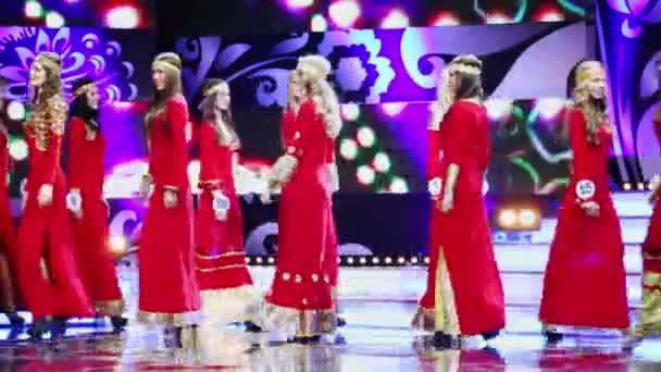 Concorrenti di bellezza russa