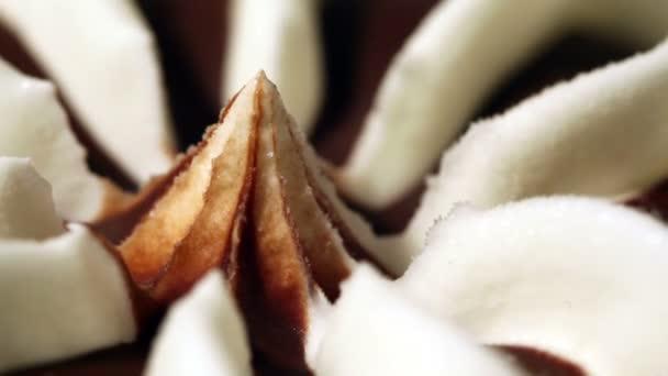 Vanilková zmrzlina kužel čokoláda
