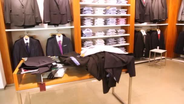 Prázdný Pánské oblečení shop