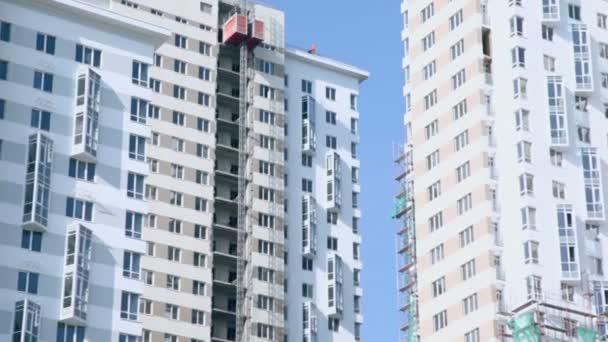 Gebäudeteile im Bau