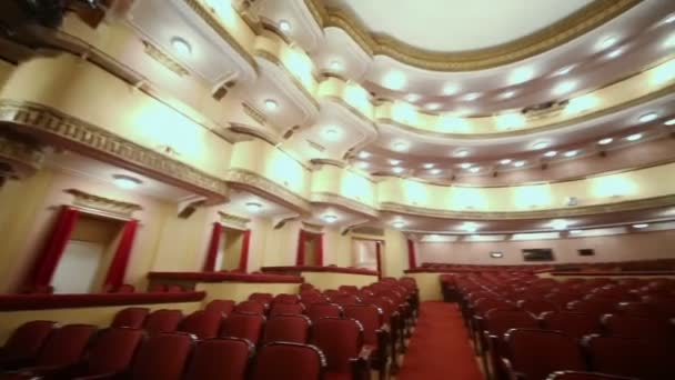 Sedadel v hledišti v Vachtangova divadla