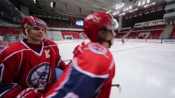 A piros egységes jégkorong-válogatott játékosok
