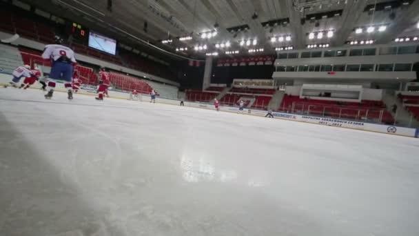 Zápas mezi týmy hokejové