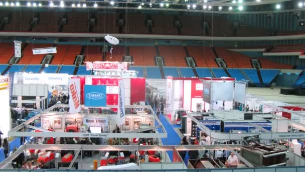Clean industry expo at Olimpisky Stadium