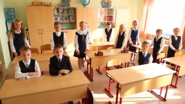 Első nap az iskolában a gyermekek