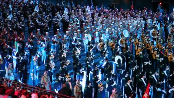 Orchestra parade at Military Music Festival