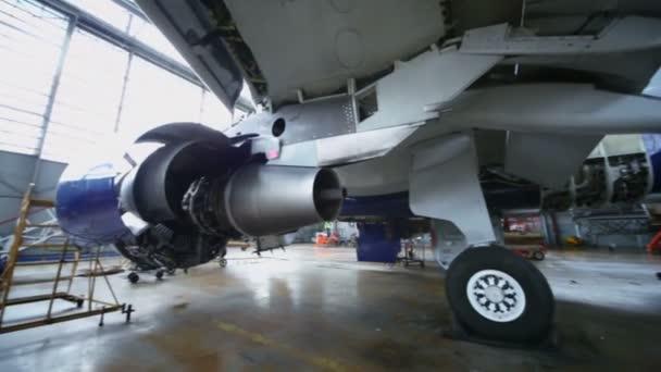 Demontované turbína letadel
