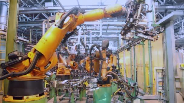 Robotika práce ve výrobní lince