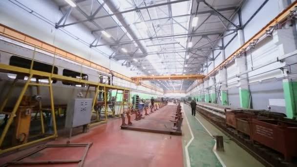 Pracovníky, aby vagónech na workshop