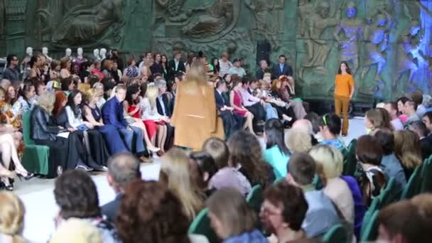Presentation of new collection on fashion show