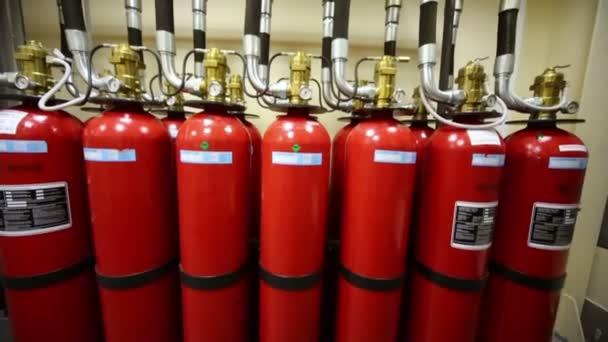 Výkonné průmyslové požární soustava