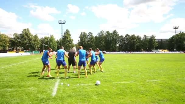 Képzés a rugby terén a férfiak csoportja