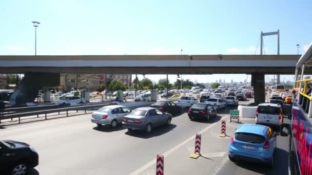 Traffic jam before Ataturk bridge