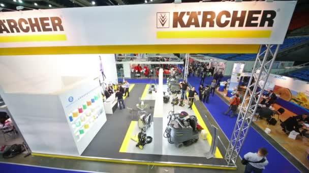 Pavilon čistící stroje Karcher